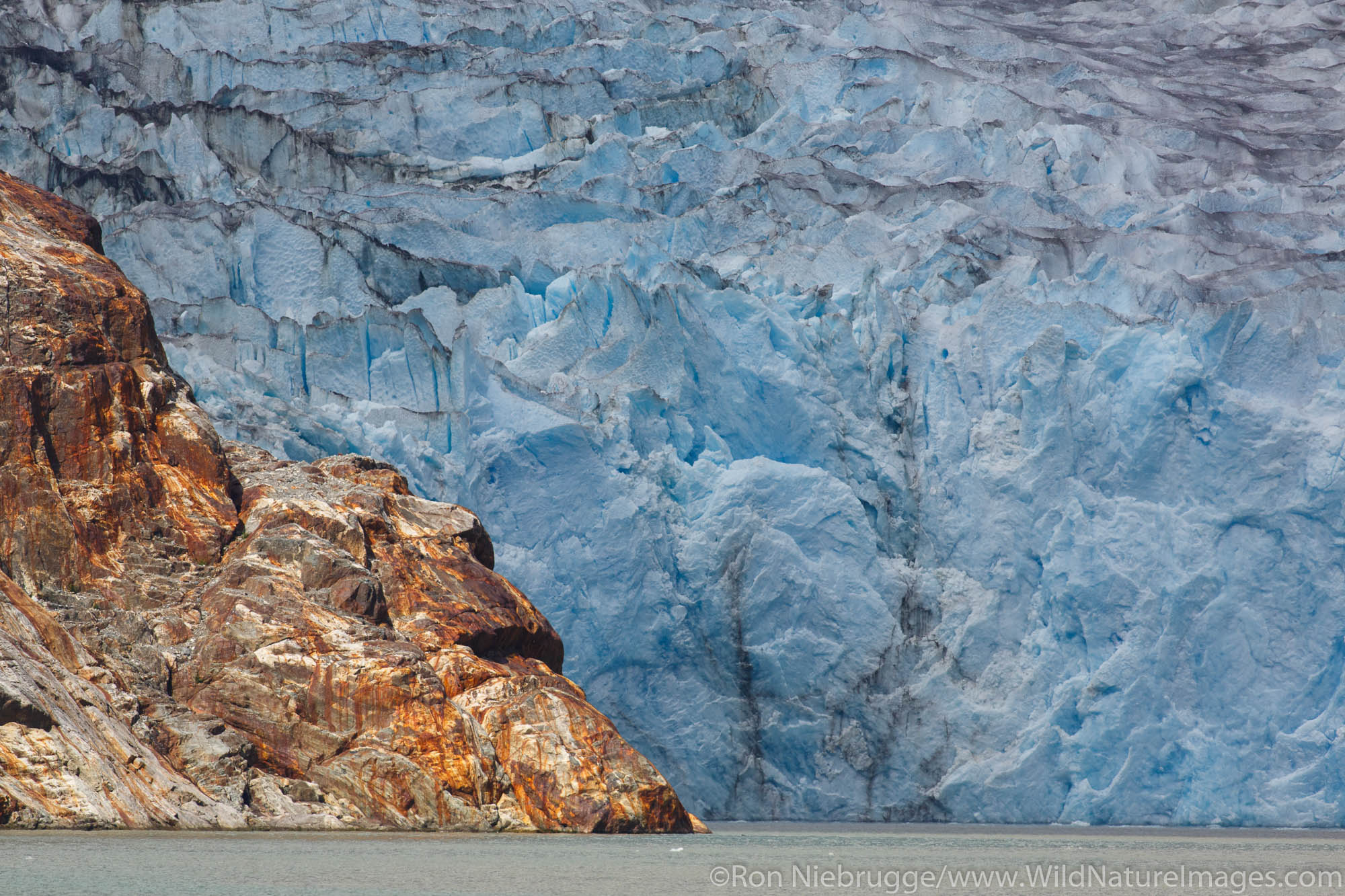 Tongass National Forest, Inside Passage, Alaska, sawyer glacier, photo