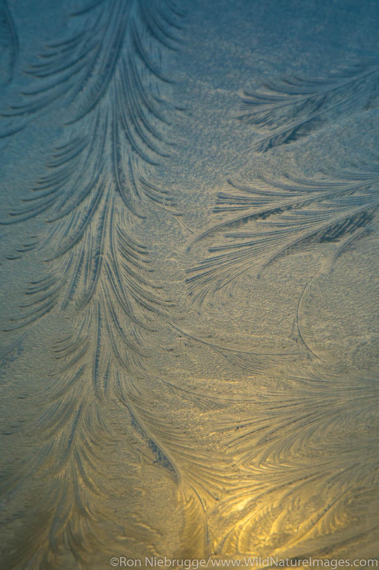 Ice patterns, Alaska.