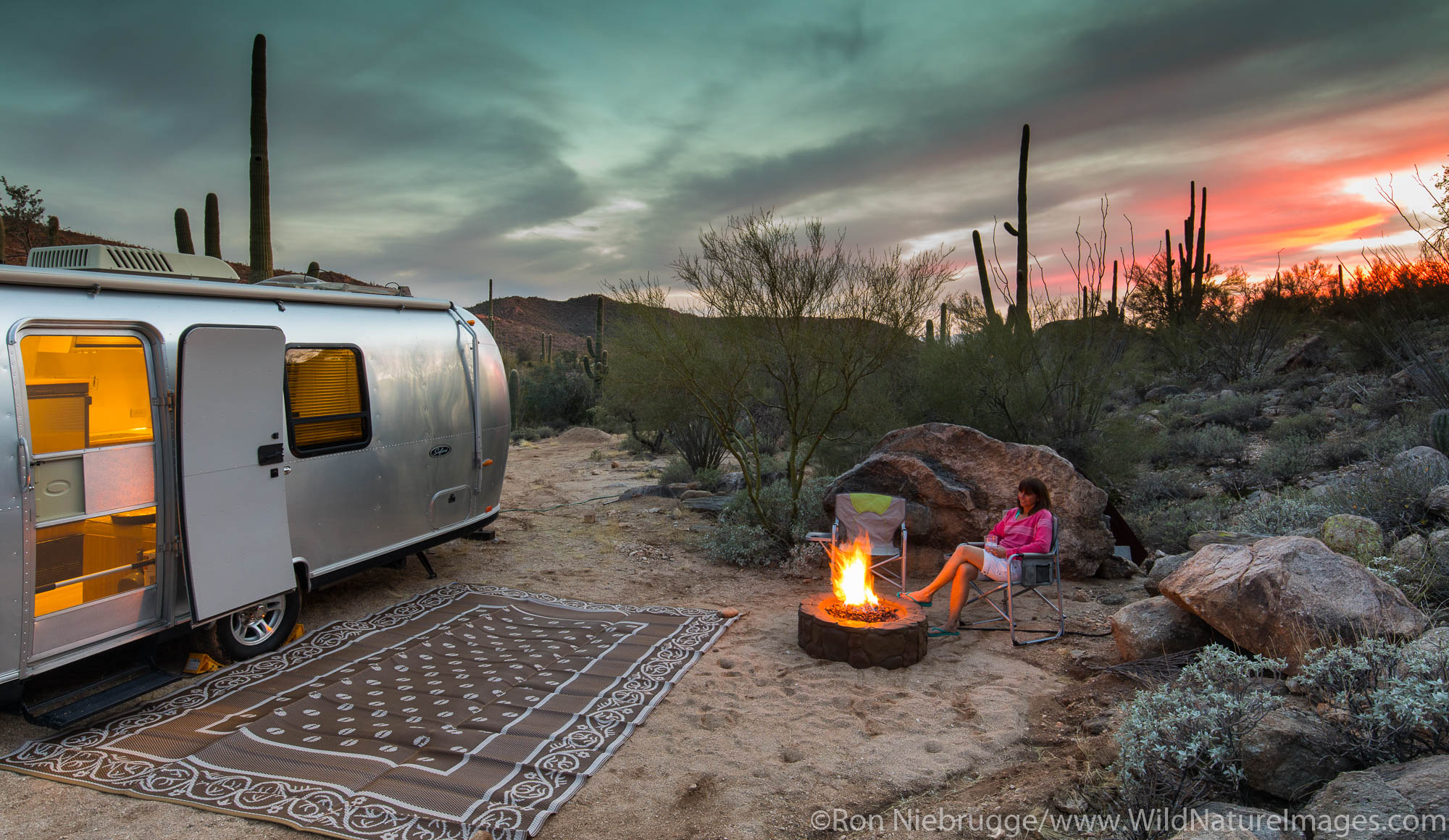 Airstream, Marana, near Tucson, Arizona.