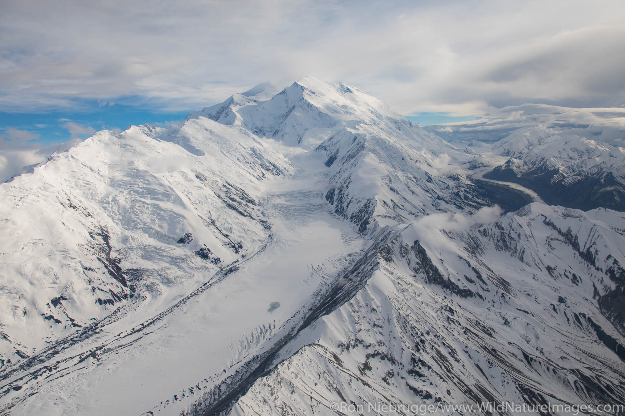 Denali, aerial, photo