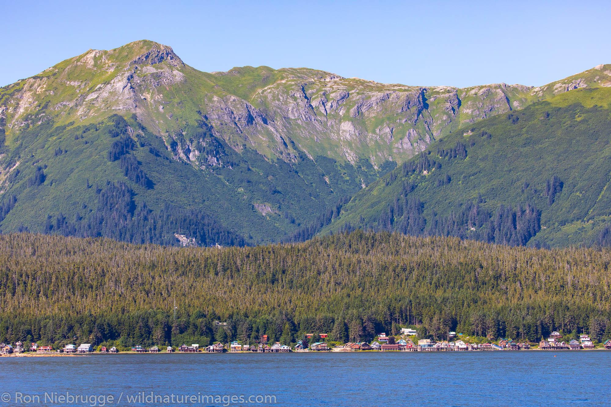 Tenakee Springs, Tongass National Forest, Alaska.