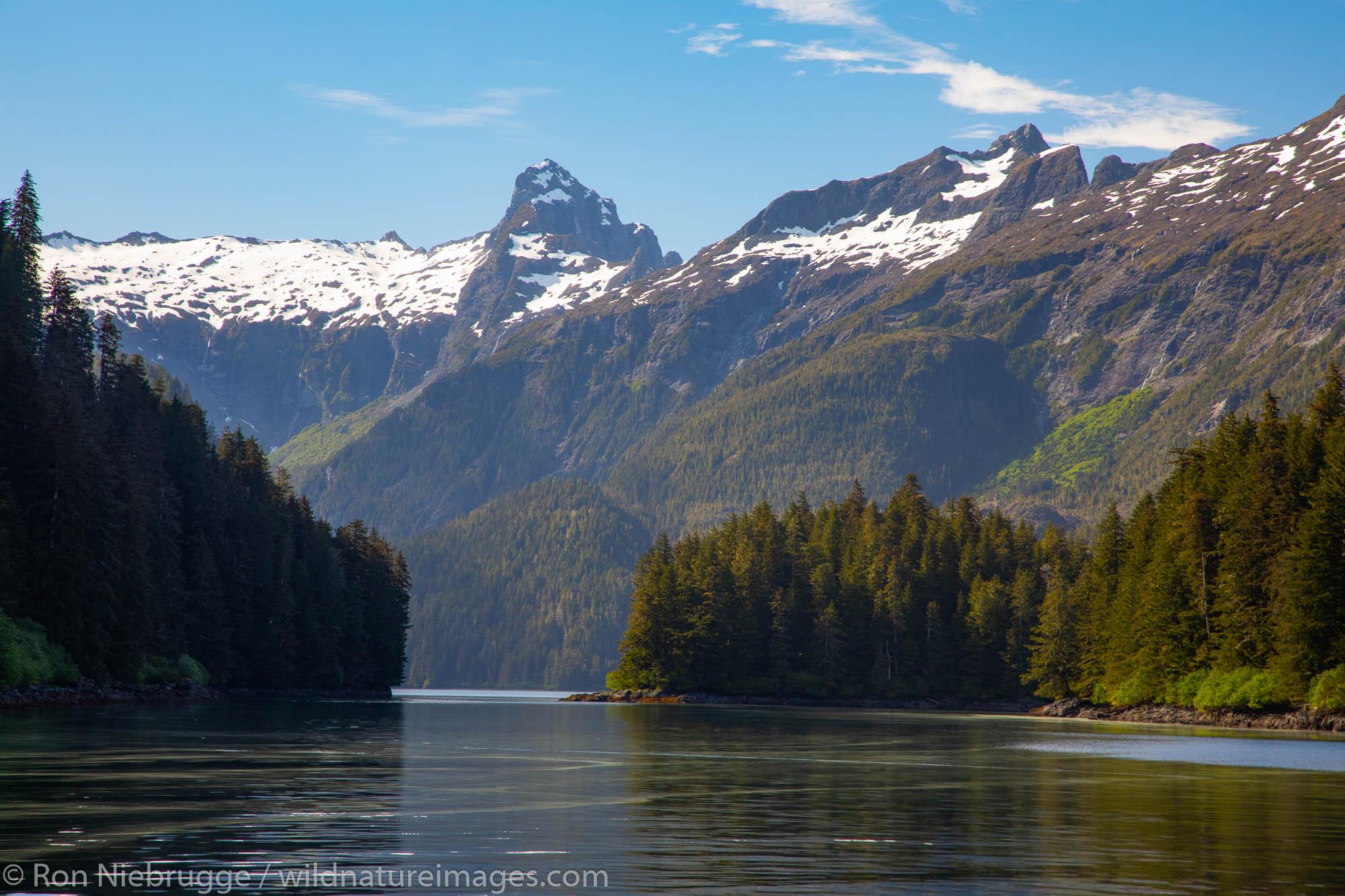 Red Bluff, Baranof Island, Tongass National Forest, Alaska.