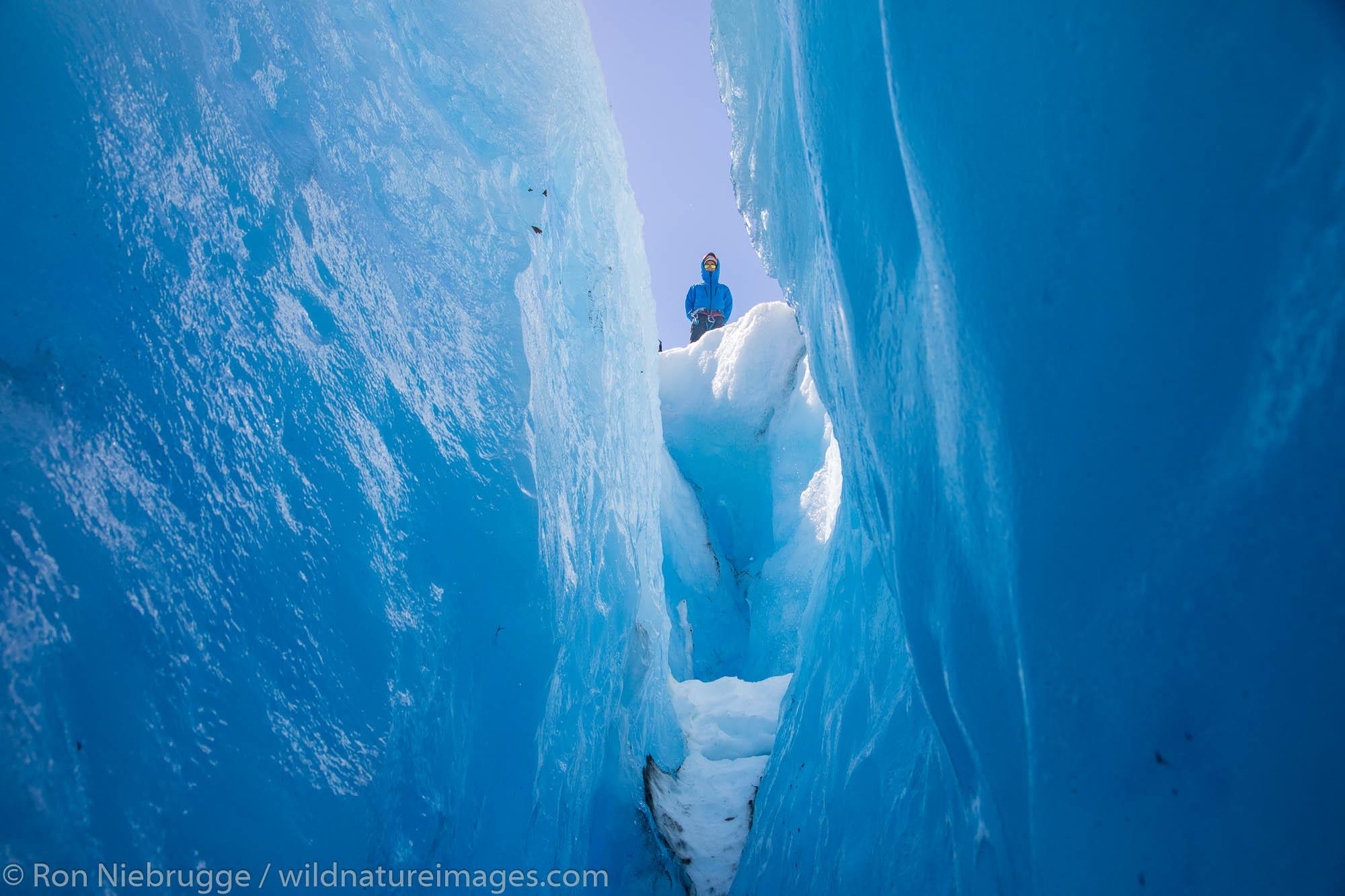 exit glacier, ice climbing , photo