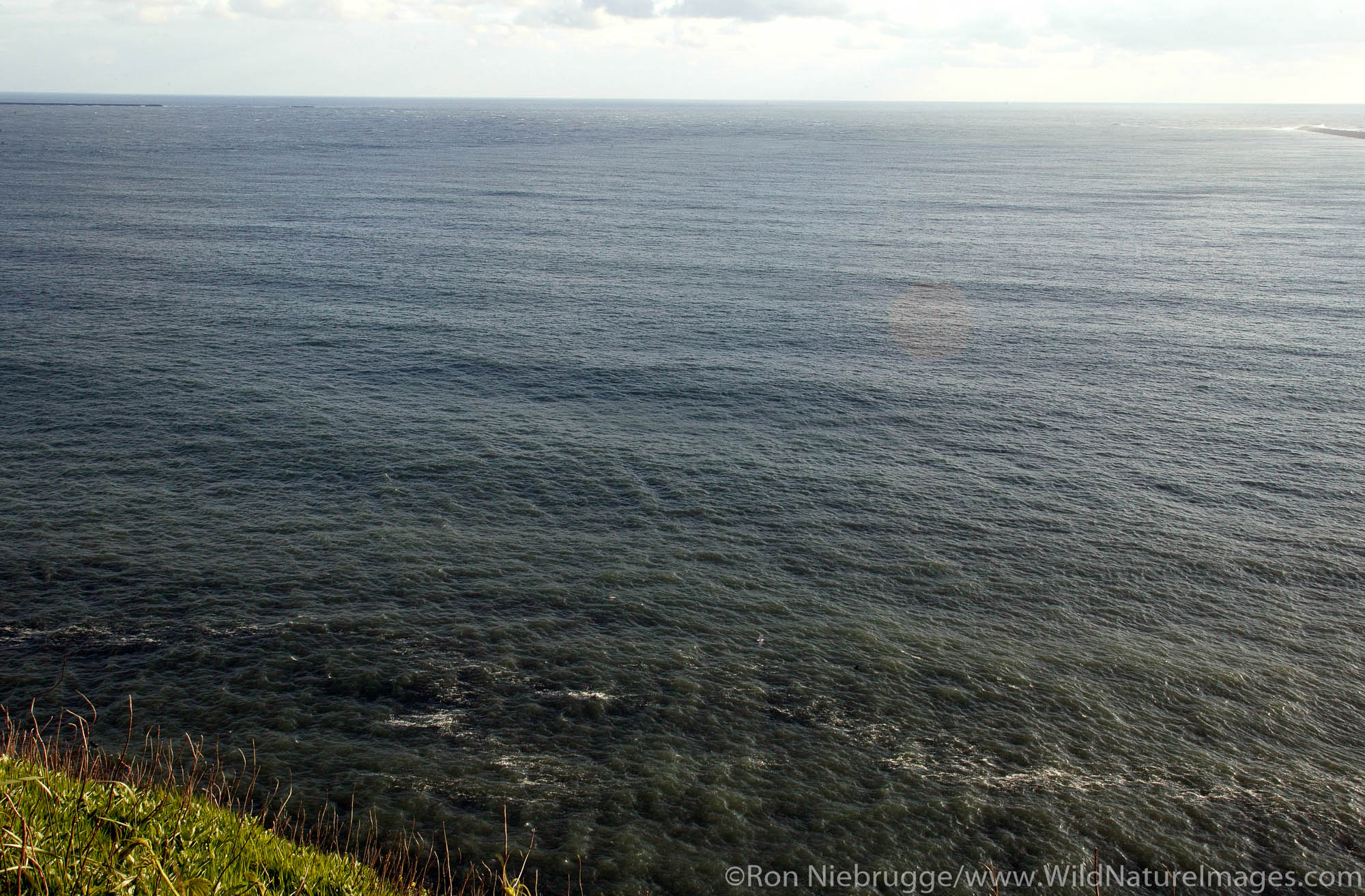 Mouth of the Columbia River from Cape Disappointment State Park.  This was Lewis and Clark's final destination.  Washington