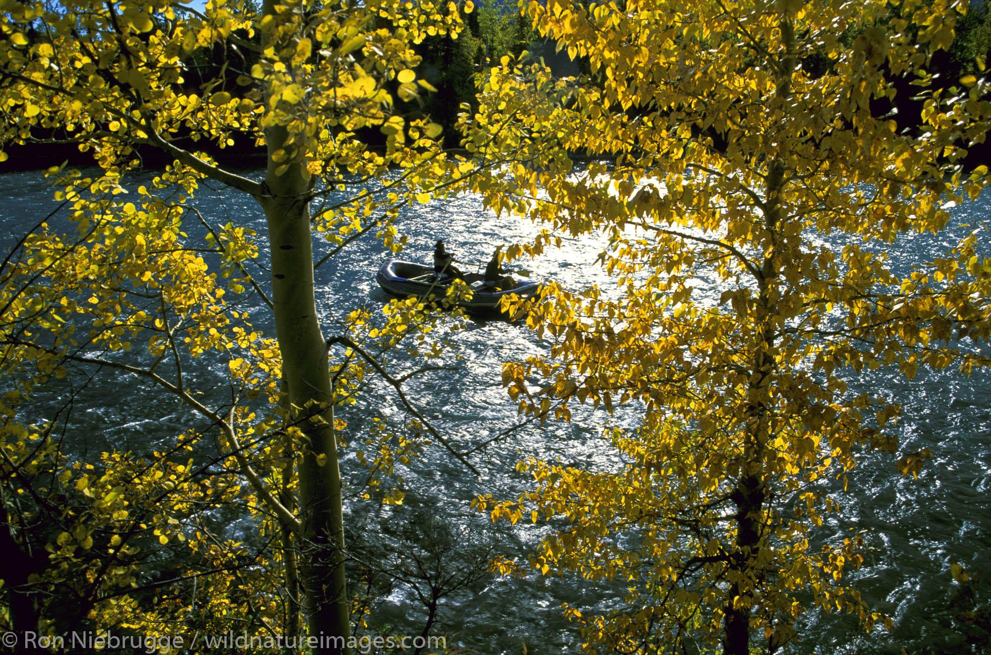Float Fishing on the Kenai River. Kenai Peninsula, Alaska.
