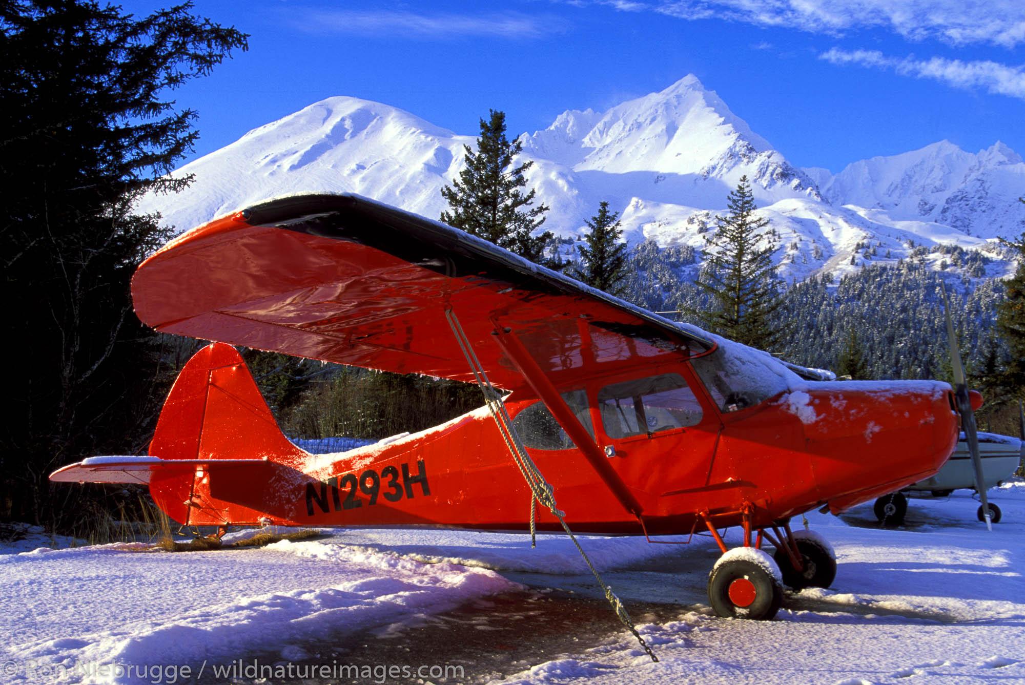 1948 Aeronica Sedan.  Seward Airport.  Kenai Peninsula, Alaska.