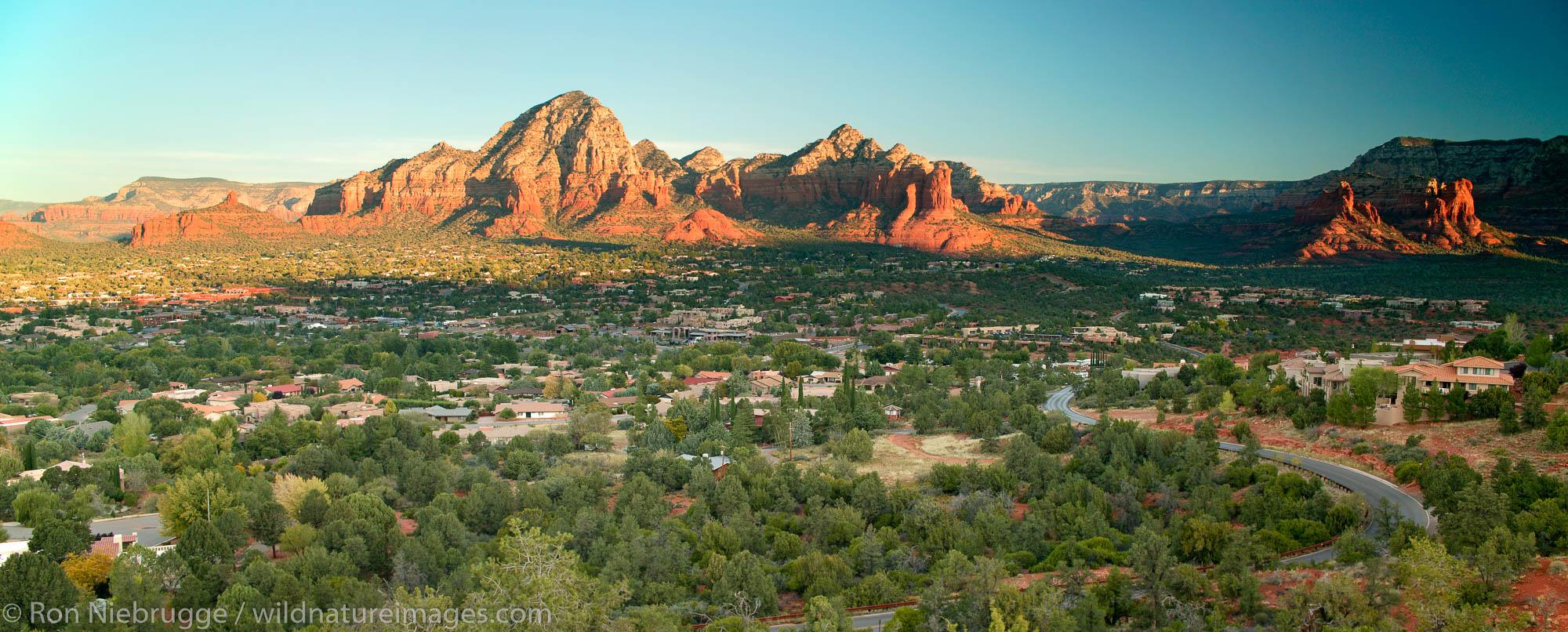 The town of Sedona, Arizona.