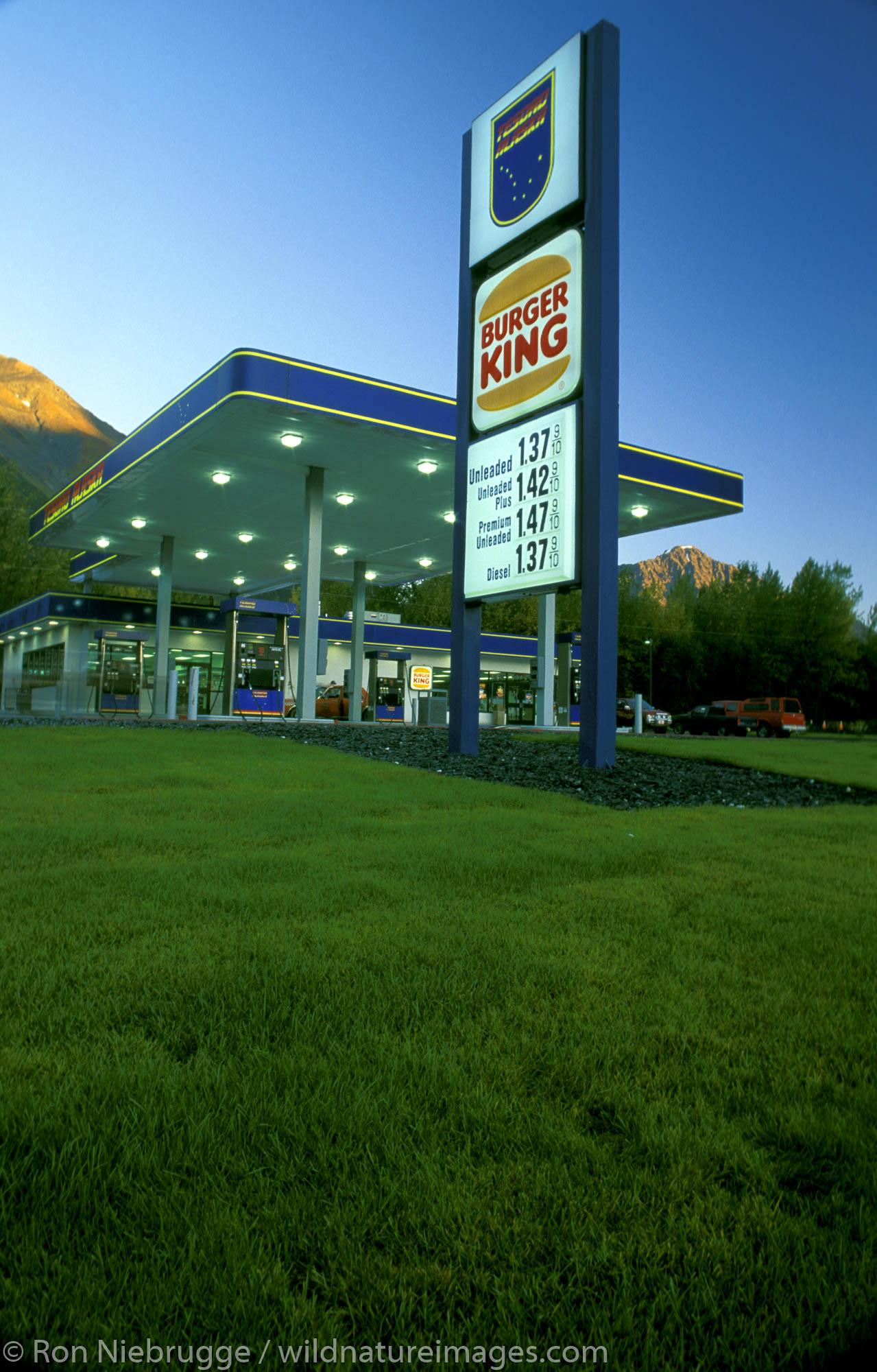 Service Station, Seward, Alaska.